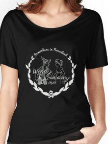 Somewhere in Neverland Women's Relaxed Fit T-Shirt