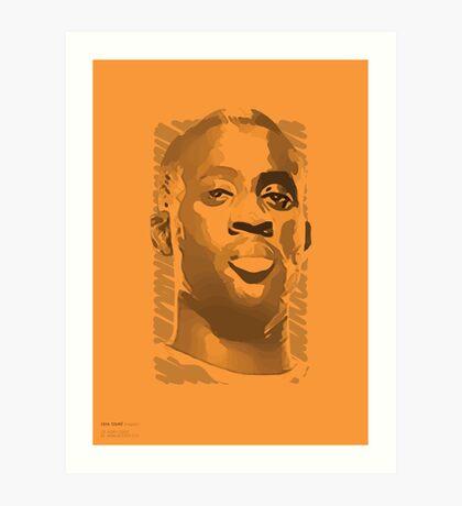 World Cup Edition - Yaya Toure / Ivory Coast Art Print