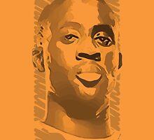 World Cup Edition - Yaya Toure / Ivory Coast by Milan Vuckovic