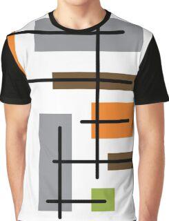 Cubicle Atomic Era Art Graphic T-Shirt