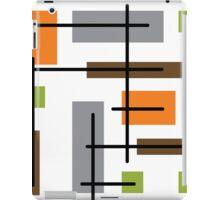Cubicle Atomic Era Art iPad Case/Skin