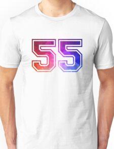 Angel number 55 Unisex T-Shirt