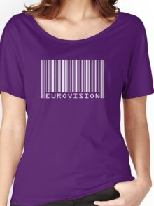 Eurovision barcode Women's Relaxed Fit T-Shirt