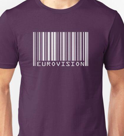 Eurovision barcode Unisex T-Shirt