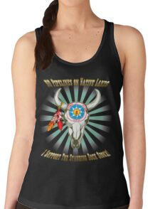Buffalo Steal Ya Face Standing Rock Sioux Women's Tank Top