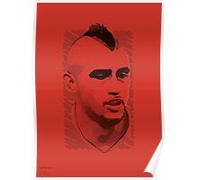 World Cup Edition - Arturo Vidal / Chile Poster