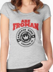 Abe Froman - Sausage King of Chicago Women's Fitted Scoop T-Shirt