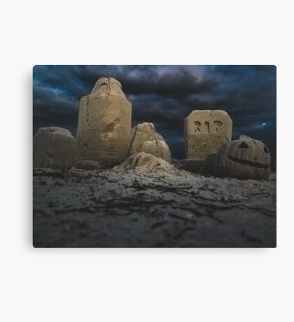 Floridian Halloween Canvas Print