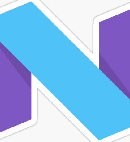Android Nougat Sticker