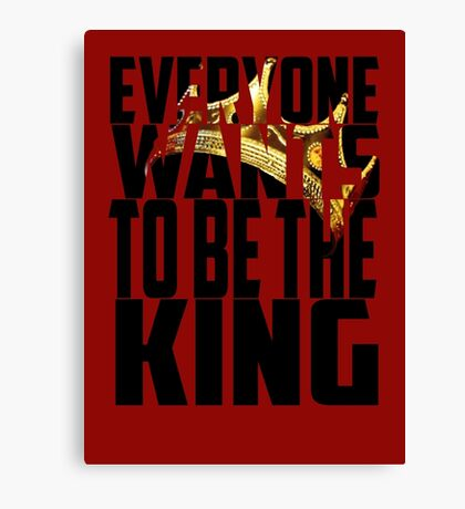King Crown - Luke Cage Canvas Print