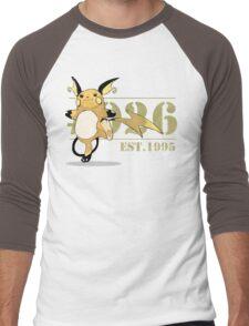 #026 Raichu Men's Baseball ¾ T-Shirt