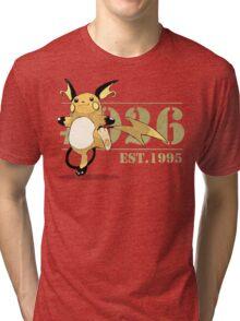 #026 Raichu Tri-blend T-Shirt