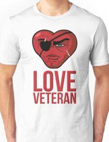 Love Veteran Unisex T-Shirt