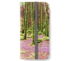 A Walk Among the Mossy Giants iPhone Wallet/Case/Skin