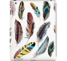 Amazing feathers stylish design : Hand-drawn art / Collection 2016 in our Shop iPad Case/Skin
