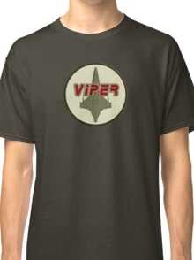 Battlestar Galactica Viper patch Classic T-Shirt