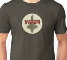 Battlestar Galactica Viper patch Unisex T-Shirt