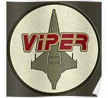 Battlestar Galactica Viper patch Poster