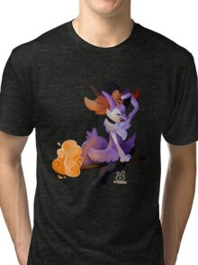 Witchy Braixen Tri-blend T-Shirt
