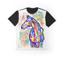 Horse Look Graphic T-Shirt