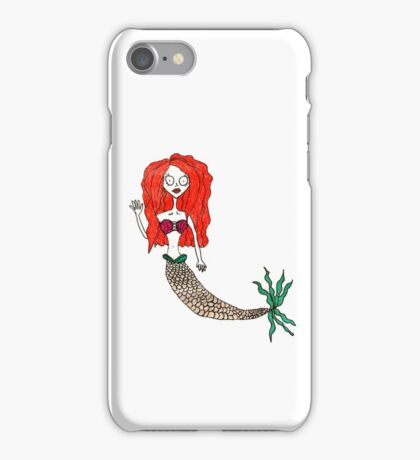 Tim Burton Style - Ariel iPhone Case/Skin