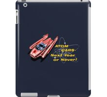 Atom Cars retro iPad Case/Skin