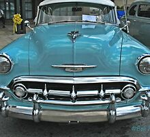 """""""'53 Chevy Bel Air""""... prints and products by © Bob Hall"""