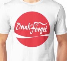 Drink to Forget: Cola Unisex T-Shirt