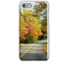 Maine Country Road iPhone Case/Skin
