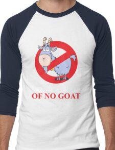 i ain't afraid of no goat (large size) Men's Baseball ¾ T-Shirt