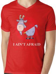 i ain't afraid of no goat (large size) Mens V-Neck T-Shirt