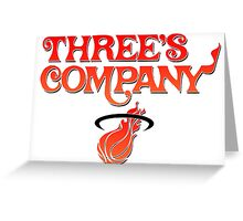 Three's Company Greeting Card