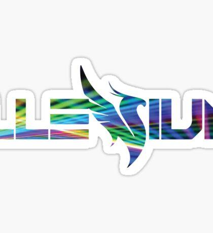 Illenium w/ Lasers Sticker