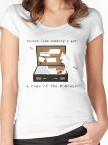 Case of the Mondays Women's Fitted Scoop T-Shirt