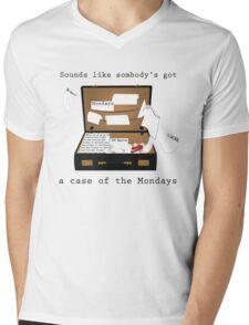 Case of the Mondays Mens V-Neck T-Shirt