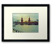 Berlin zug Framed Print
