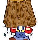 HeinyR- Clown Bucket Head by cadellin