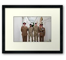 Armed Forces Day Bromley Kent Framed Print