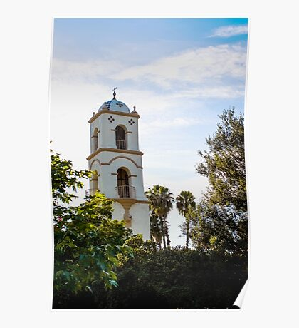 Ojai Post Office Tower Poster