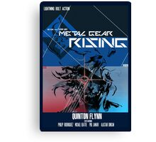 Rising - Metal Gear Solid Canvas Print