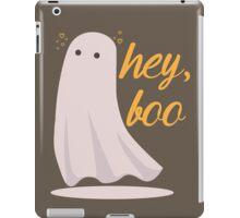 Say Hey, Boo! iPad Case/Skin
