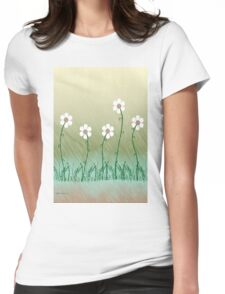 Five Daisies Womens Fitted T-Shirt