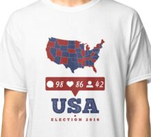 America - USA Presidential Election 2016 Classic T-Shirt