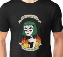 Life is Hell - Green Unisex T-Shirt
