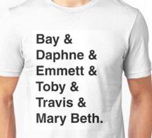 """Switched at Birth"" Characters - the kids Unisex T-Shirt"