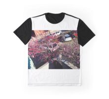 Pink Tree Graphic T-Shirt