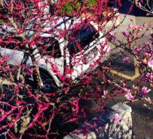 Pink Tree Sticker