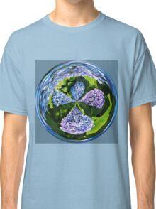 Hydrangea Cross Classic T-Shirt