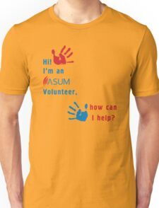 ASUM Volunteer-1 Unisex T-Shirt