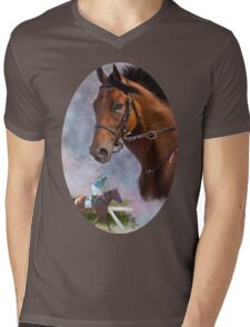 American Pharoah, Triple Crown Winner Mens V-Neck T-Shirt